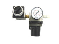 Precision Air Regulator/Gauge/Valve, 0-30psi with Syringe Airline Adapter for 98084 Valve